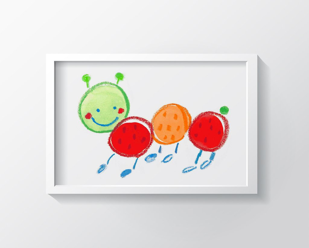FERNANDO CATERPILLAR ART PRINT